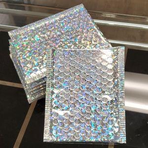 15x18cm (50pcs) holographic bubble mailer